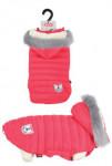 Obleček prošívaná bunda pro psy URBAN červená 35cm Zol - VÝPRODEJ