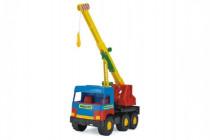 Auto middle Truck jeřáb plast 36cm Wader - VÝPRODEJ