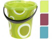 vědro 12l s výlevkou plastové - mix variant či barev