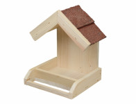 Krmítko č.21 přírodní dřevěné 26x24x30cm