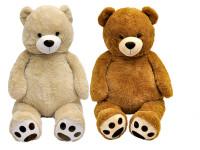 Medvěd plyšový 135 cm - mix variant či barev
