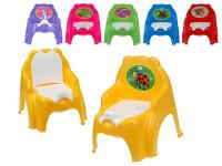 Židlička s vyjímatelným nočníkem 32x35x30 cm - mix barev