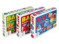 Baby puzzle 18 dílků - mix variant či barev