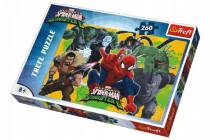 Puzzle Spiderman vs Sinister 6 Disney 260 dílků 60x40cm