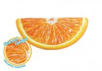 Lehátko pomeranč nafukovací 178x85cm