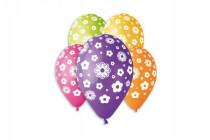 Balonek/Balonky nafukovací květiny 12'' průměr 30cm