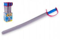 Rytířský meč pěnový 76cm - VÝPRODEJ