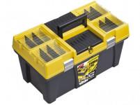 """kufr na nářadí 26"""" STUFF SEMI PROFI CARBO 595x337x316mm"""