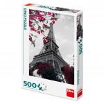 Puzzle 500 dílků: Pod Eiffelovou věží