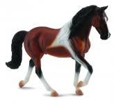 Tennessee Mac Toys Walking Horse hřebec hnědák - model zvířátka