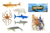 Zvířátka mořská plast 14cm