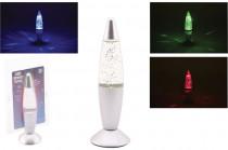 Lávová lampa s glitry 20 cm