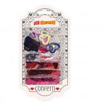 Dekorativní konfety mix srdíčka 5 x 4 g