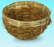 Hnízdo pro ptáky proutěné  Nobby 8 x 12 cm