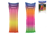 Lehátko nafukovací 183x69 cm duhové max.90 kg - mix barev
