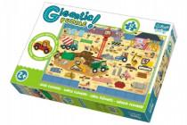 Puzzle zvířátka Gigantic Staveniště