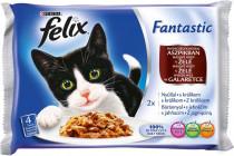 Felix cat kaps.-Fant.Multipack masové hody v želé 4 x 100 g