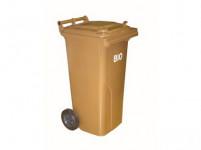 nádoba na BIO odpad 120l plastová, HN s roštem