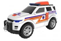 Temasterz záchranný jeep se zvukem a světlem