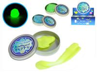 Inteligentní plastelína/modelína svítící v plechovce 8x8cm - mix barev