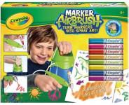 Kreslící studio - Crayola Marker Airbrush modrý