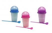 Slushy maker měnící barvu fialový
