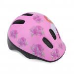 Spokey ROSES FAIRY Dětská cyklistická přilba, 49-56 cm