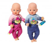 BABY born Pyžamo s baterkou, 2 druhy - mix variant či barev