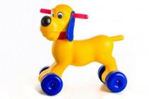 Odrážedlo pes plast výška sedadla 26cm nosnost do 20kg