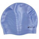 Spokey Shoal plavecká čepice silikonová tmavě modrá