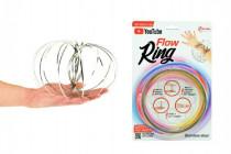 Flow Ring kovová spirála průměr 13cm na kartě 16x24cm