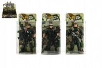 Voják figurka plast 10cm - mix variant či barev