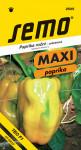 Semo Paprika zeleninová sladká F1 - Theos F1 rychl 15s - série Maxi