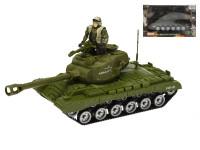 Tank 25 cm na setrvačník s vojákem a příslušenstvím