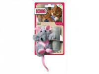 Hračka cat plyš Krysa s catnipem Kong 1 ks