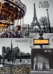 Paříž - koláž 1000D