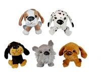 Pes plyš 12cm - mix variant či barev