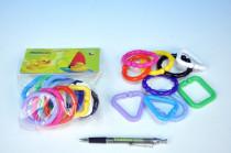 Řetěz/zábrana tvary plast 6cm 0m+