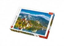 Puzzle Bled, Slovinsko 500 dílků 48x34cm