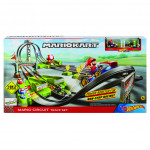 Hot Wheeels Mario Kart dráha závodní okruh