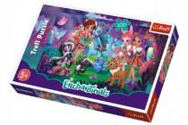 Puzzle Enchantimals 100 dílků 41x27,5cm