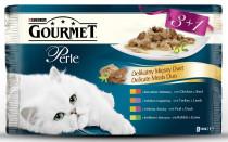 Gourmet Perle cat kaps.- DUO Multipack maso 4 x 85 g (3+1zdarma)