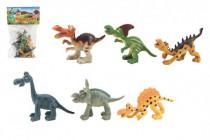 Dinosaurus plast 9-11cm