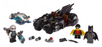 Lego Super Heroes 76118 Mr. Freeze vs. Batman na Batmotorce