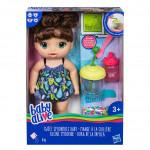 Baby Alive Tmavovlasá panenka s mixérem - VÝPRODEJ