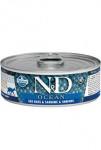 N&D CAT OCEAN Adult Sea Bass & Sardine & Shrimps 80g
