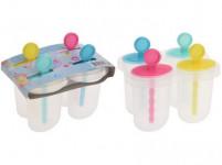 tvořítko na zmrzlinu 12,5x8x11cm plastové (4ks)