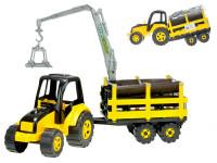 Traktor s vlekem TytanCarrier 70 cm