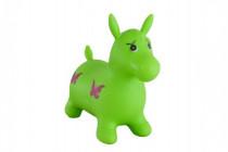 Hopsadlo kůň skákací gumový zelený