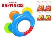 Chrastítko 12 cm Baby\'s Happiness - mix barev
